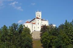 Trakoscan slott Fotografering för Bildbyråer