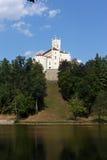 Trakoscan slott i Kroatien Royaltyfria Bilder
