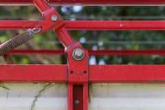 traktor和细节 免版税库存照片
