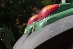 traktor和细节 免版税图库摄影