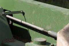 traktor和细节 免版税库存图片