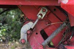 traktor和细节 图库摄影