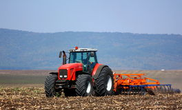 Traktor Arkivbild