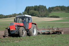 Traktor Stockfoto