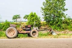 Traktor royaltyfri fotografi