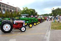 Traktor-Anzeigen-Staat Iowa angemessen Lizenzfreies Stockbild