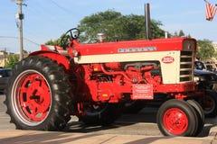 Traktor in der Autoshow Lizenzfreie Stockfotografie