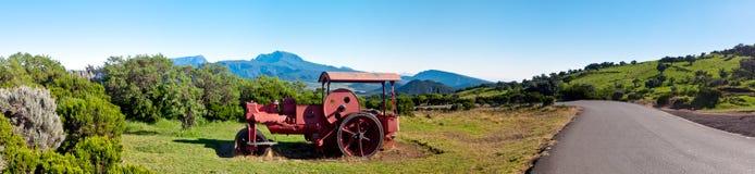 Traktor des alten Landes Stockbild