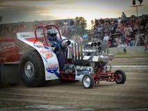 traktor för 10 pull Arkivfoto