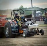 traktor för 8 pull Royaltyfri Bild