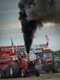 traktor för 9 pull Royaltyfri Bild