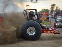 traktor för 9 pull Fotografering för Bildbyråer