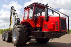 traktor för industribråtered Royaltyfria Foton