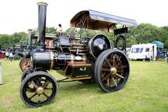 Traktor 1917 för tiger för tappningFowlerT3 Arkivbild
