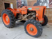 Traktor Fiat 342 R Stockbild