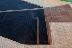 Traktor in Frankreich Lizenzfreie Stockfotografie