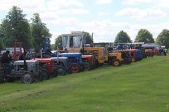 Traktor Identifikations-Parade Stockbild