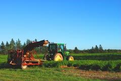 Traktor im Ruhezustand Lizenzfreie Stockbilder