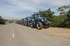 Traktor-Landwirtschaft Stockfotografie