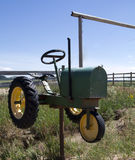 Traktor-Mailbox Stockbild