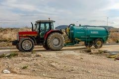Traktor Masey Ferguson stockbild