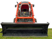 Traktor mit Fluglage Stockfoto