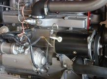 Traktor-Motor. Lizenzfreies Stockbild
