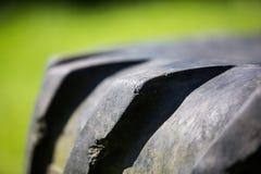 Traktor-Reifenreifen Lizenzfreies Stockbild