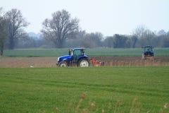 Traktor två Royaltyfria Bilder