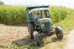 Traktor Weinlese Fendt-Landwirts 1Z lizenzfreie stockbilder
