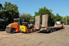 Traktordelar, apparater Royaltyfria Bilder
