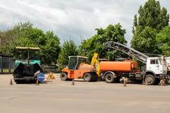 Traktordelar, apparater Royaltyfria Foton