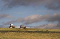 Traktoren Lizenzfreie Stockfotos