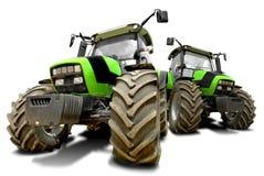 Traktoren Stockbild
