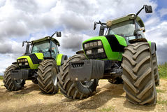 traktorer Arkivbild