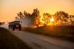 traktorer Royaltyfri Fotografi