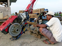 traktorer Royaltyfri Bild