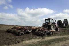 Traktorharv Royaltyfria Bilder