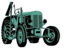 Traktorklipp Arkivbild