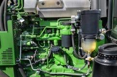 Traktormotor Royaltyfri Fotografi