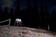 Traktornacht Stockfotografie