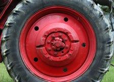 Traktorrad Lizenzfreie Stockfotos