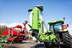 Traktors and plows Stock Images