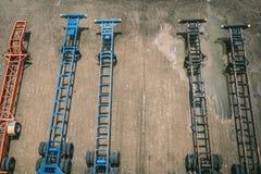 Traktorsläp Fotografering för Bildbyråer
