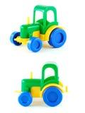 Traktorspielzeug stockbild