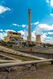 Tralalgon Victoria, Australien - Loy Yang kol-avfyrade kraftverket arkivfoton