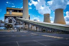 Tralalgon Victoria, Australien - Loy Yang kol-avfyrade kraftverket arkivbild