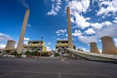 Tralalgon Victoria, Australien - Loy Yang kol-avfyrade kraftverket arkivfoto