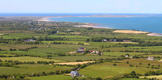 Tralee Bay County Kerry Ireland arkivbild