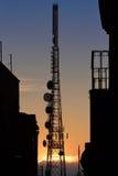 Traliccio TV immagine stock